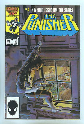 Punisher (1986 Limited Series) #4 FNVF Zeck, Beatty