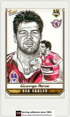 Cuthbertson 2008 Select NRL Champions Stars Sketch Card SK12 A *Popular