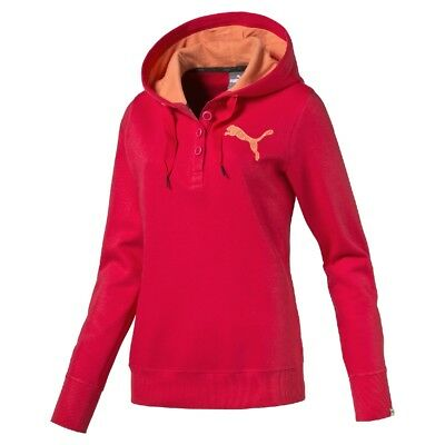 NEW Puma Women's Fun Button Hoodie By Anaconda