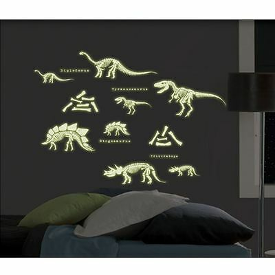Dinosaurs Glow In The Dark Stickers - Wall / Doors / Furniture Stickers