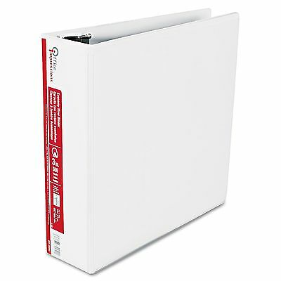 "Office Impressions Economy View Binder D-Ring, 3"" - White New"