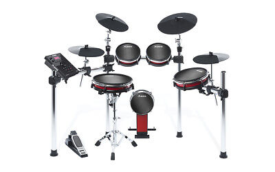 ALESIS CRIMSON II MESH KIT 5pce Electronic Drum Kit with Mesh Heads & HEADPHONES