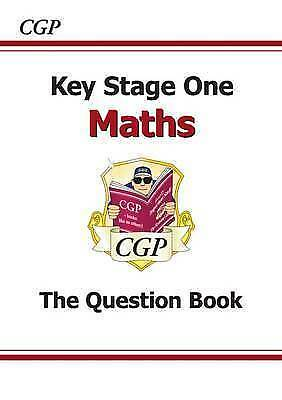 KS1 Maths Question Book (for the New Curriculum) by CGP Books NEW MINT