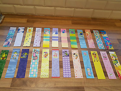 Job Lot Of 50 Mixed Bookmarks.price To Clear. Kids Xmas Party Bags.  Schools