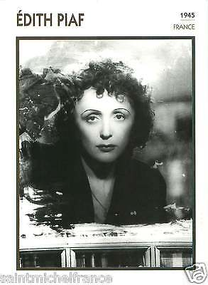 ÉDITH PIAF ACTRICE ACTRESS FICHE CINEMA FRANCE 90s