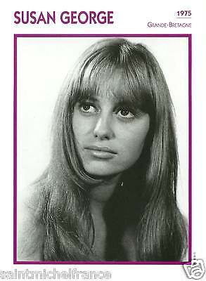 SUSAN GEORGE ACTRICE ACTRESS FICHE CINEMA GREAT BRITAIN GRANDE-BRETAGNE 90s