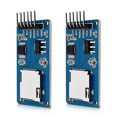 kwmobile  2x micro SD card module for Arduino and other microcontrollers