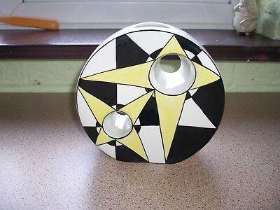 Superb Perfect Lorna Bailey Signed Geometric Vase