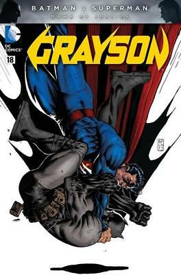 Dc New 52 Grayson #18 Poly Bag Variant First Print