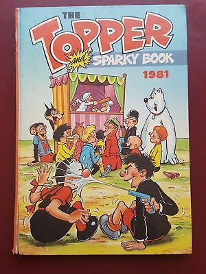 The Topper Annual 1981 - Hardback Book