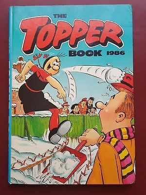 The Topper Annual 1986 - Hardback Book