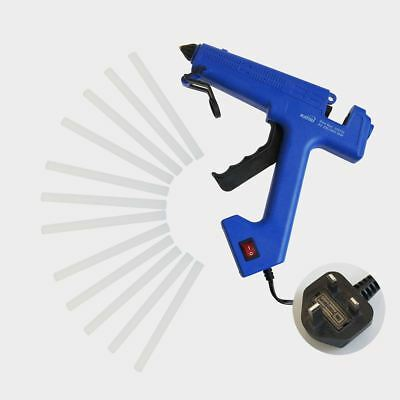 60W Professional Glue Gun Electric Heating Melt Gun With 12 Sticks Art Craft