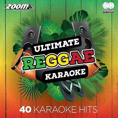 Zoom Karaoke Ultimate Reggae Karaoke Vol.1 CD+G - 40 Songs on 2 CD+G Discs!