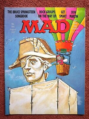 Mad Magazine  304 - Bruce Springsteen Songbook - Get Smart