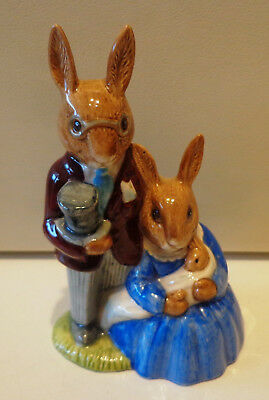 "ROYAL DOULTON BUNNYKINS ""FAMILY PHOTOGRAPH"" - DB1 - 1972 - ENGLAND - MINT cond"
