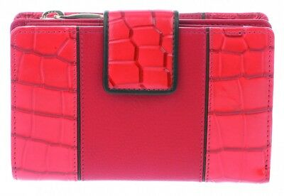 Golunski Leather Wallet & Purse : Made with real leather, Ref / Red Interior