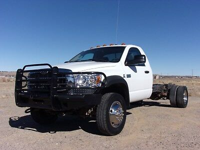 2009 Dodge Ram 5500 Bullet Sterling 2009 Dodge Ram Bullet Sterling 5500 Cummins 4WD Cab and Chassis FREE SHIPPING!!!