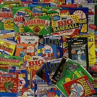 300 Old Vintage Baseball Cards in Unopened Packs from HUGE COLLECTION LOT
