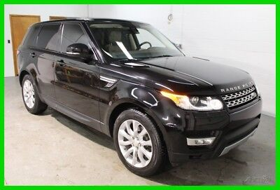 2015 Land Rover Range Rover Sport 3.0L V6 Supercharged HSE 2015 Land Rover Range Rover Sport  Black Clean Carfax One Owner Supercharged 3.0