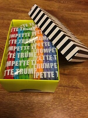 New Baby Trumpette Socks 0-12 M 7 Pair Days Of The Week Sox Booties Gift In Box