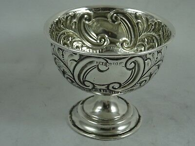 SMALL EDWARDIAN silver NUT BOWL, 1906 , 46gm - Chester