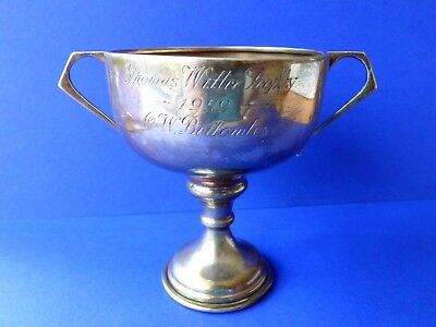 Vintage Sterling Silver THOMAS WITTER  TROPHY 1959 trophy cup