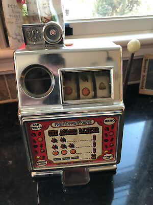 NEVADA ONE ARMED BANKER SMALL SLOT MACHINE  by MEDLEY MFG. CO.