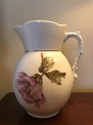 Pitcher Royal Semi Porcelain English Numbered Excellent Collectible Easter Deal