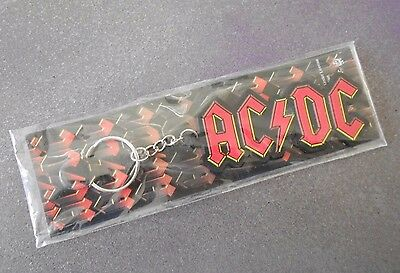AC DC COLLECTIBLE KEY CHAIN Official Band Logo Keychain Holder etc NIP NRFP