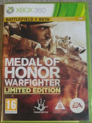 Medal Of Honor Warfighter Limited Xbox 360 (Xbox One A Voir Lien Plus Bas)