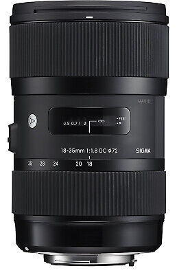 Sigma 18-35mm F1.8 Art DC HSM Lens for Sony