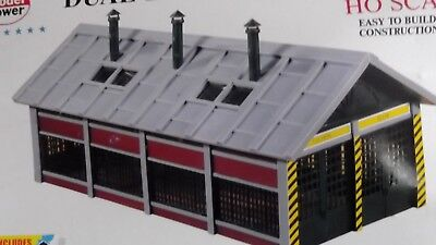 Model Power ho scale Dual Loco Shed train building new in original box