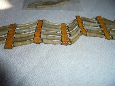 Native American Shell Ear Ring  Indian Necklace Museum Piece