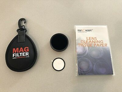 PNC MagFilter 52mm Filter Adapter Ring magnetic with HOYA NDX400 Neutral Density