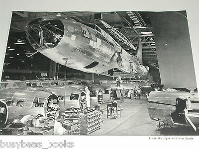 1944 Boeing Aircraft ad, Flying Fortress factory