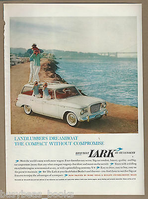 1960 STUDEBAKER LARK advertisement, Lark station wagon, large size advert