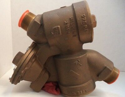 "Zurn Wilkins 1 1/2"" Reduced Pressure Principle Backflow Preventer, P/n 975Rp"