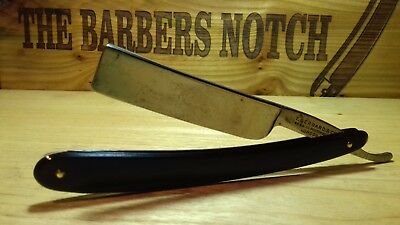 "12/16"" - Square Point Wedge Razor Rasoio Rasier Navaja Rasiermesser - T. Gerrard"