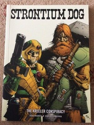 Strontium Dog The Kreeler Conspiracy 2000 AD Wagner Ezquerra Paperback Book New