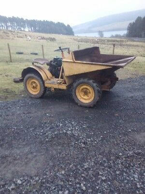 Dumper 2 wheel drive letter diesel spares are repair no brakes