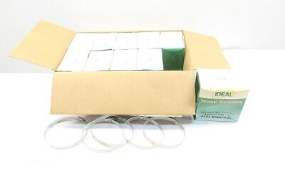 Box Of 50 New Ideal 4Xz80 Stainless Hose Clamp D598612