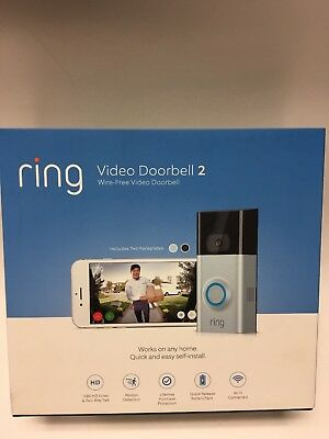 Ring Video Doorbell 2 Quick-Release Rechargeable Battery Pack New