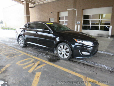 2013 Kia Optima 4dr Sedan SX w/Limited Pkg 4dr Sedan SX w/Limited Pkg Automatic Gasoline 2.0L 4 Cyl BLACK
