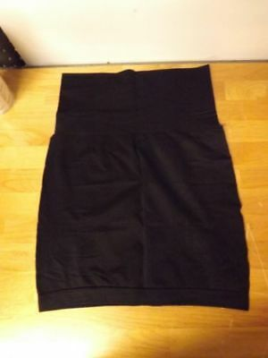 Yummie by Heather Thomson Seamless Skirt Slip-Black-M/L-NEW
