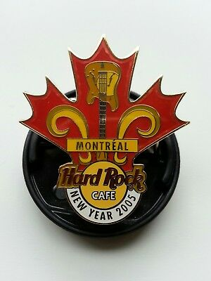 hard rock cafe montreal 2005 new year pin