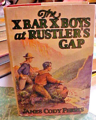 2 Great Old Western Novels With Dust Covers X Bar X Boys & On The Staked Plain