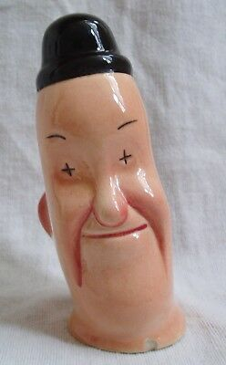 Vintage Beswick Stan Laurel Salt Seller - Laurel & Hardy Condiment/Cruet Pot