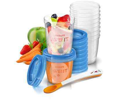 ***Avent Feeding Via Cup Storage 20 Cup Piece Feeding Set and Milk Storage ***