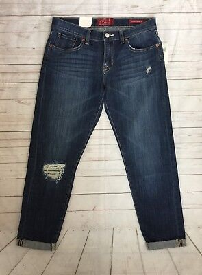 NEW LUCKY BRAND  Women's 27 Sienna Cigarette Straight Leg Distressed Jeans NWT