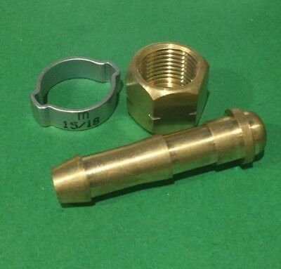 Bossweld Crimp Connector Kit for 10mm LH (Fuel)